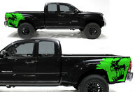 Custom Vinyl Rear Decal Scream Wrap Kit Fits: Toyota Tacoma 05-15 Truck GREEN