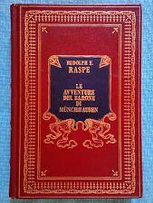 RAGAZZI: LE AVVENTURE DEL BARONE DI MUNCHHAUSEN di  RUDOLPH E. RASPE - C.D.C.
