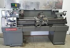 Lathe 15 x 48 Clausing 1501 Engine Lathe with DRO and Lots of Extras