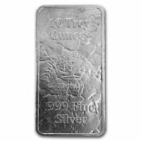 10 oz Silver Bar - MPM (Struck) - SKU#231708