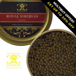 30-250 gr Royal Siberian Caviar.