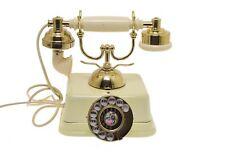 Vintage Telephone Victorian French Style Princess Rotary Dial Desk Phone