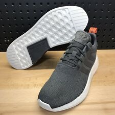 Adidas NMD R2 Boost Grey Future Harvest Men's Size 8.5