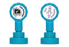 Peer valutato & autofatturata Auto-Inchiostrazione Insegnante Rubber Stamp Set-RE-inkable