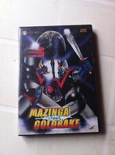 MAZINGA contro GOLDRAKE  ottimo stato DVD GO NAGAI MAZINGER vs GRANDIZER