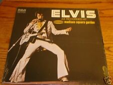 Elvis  As Recorded At  Madison Square Garden LP Still Sealed  RCA 1972
