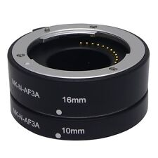 Meike Metal Auto Macro Focus AF Extension Tube MK-N-AF-3A for Nikon 1 Mount J1