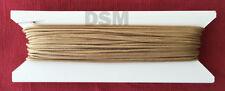 50 ft 1.8mm Tan Window Blind Cord, String, Horizontal Blinds, Mini Blinds