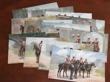 More details for original set of twelve tuck military postcards - the british army, no. 9478.