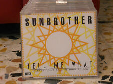 SUNBROTHER - TELL ME WHAT please don't tell me what to do - ITALO DISCO 9 tracks