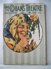 THE PERFECT FOOL Playbill ED WYNN / GUY ROBERTSON / JANET VELIE / JOHN DALE 1921