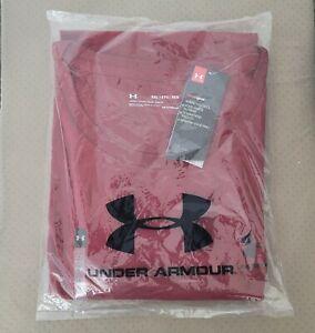 UNDER ARMOUR 5XL Shirt NEW  Short Sleeve Red