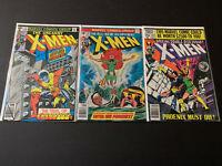 Grab Bag/Chase Comics, 1st Appearances, X-Men 101, 106, 133, All X-Men Titles