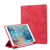 """For iPad 9.7"""" 2017/2018 Pro 10.5"""" 12.9"""" Case with Pencil Holder Slim Smart Cover"""