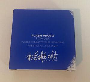 Estee Lauder The Estee Edit Flash Photo Makeup Powder 01 Blue Bright 0.21oz