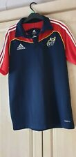 munster eire ireland rugby union medium mans adidas polo leisure training jersey