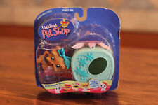 Hasbro 2004 Littlest Pet Shop VERY RARE #6 Yorki Dog Portable Pets Set w Carrier