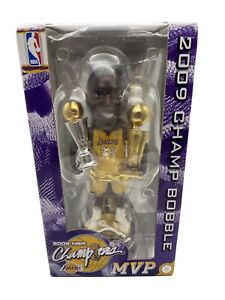 Kobe Bryant Los Angeles Lakers 2009 Finals MVP Forever bobblehead NIB LE