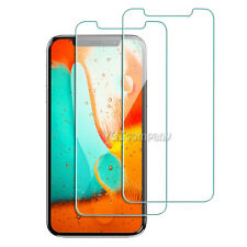 2-Pack Case Friendly Tempered Glass Screen Protector HD Cover Film Bubble Free