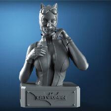 Cat Woman Bust Unpainted Figure Blank Kit Model Resin GK 25cm Hot Toy Stock New