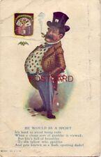 1908 HE WOULD BE A SPORT - But life's full of brambles to the fellow who gambles
