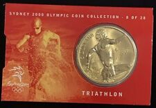2000 $5 Australia Sydney Olympic Collection Proof-Like Coin Triathlon # 8 of 28