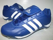 Adidas EXCELSIOR 5 LOW Mens Metal BASEBALL Cleats (Blue/White) NEW Mens Sz 15