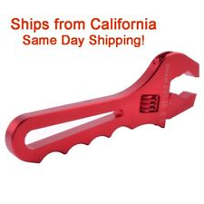 AN3-AN16 Adjustable Red AN Wrench Fitting Tools Aluminum Spanner