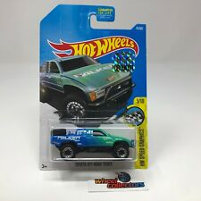 Toyota Off-Road Truck #78 * Blue/Green * 2017 Hot Wheels Factory Set * WK10