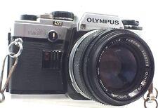 OLYMPUS OM10 Camera With Olympus Zuiko Auto-S 50mm f/1.4 Lens - L42