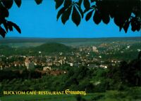 Bad Kissingen Panorama-Ansicht Blick vom Café Restaurant Sinnberg 1990