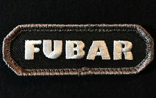 FUBAR TACTICAL INFIDEL ARMY MORALE SWAT VELCRO® BRAND FASTENER PATCH