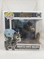 Games of Thrones Rides Funko Pop - Mounted White Walker - No. 60
