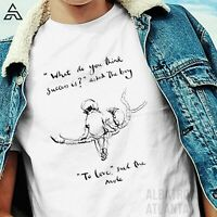 """Charlie Mackesy what SUCCESS IS? """"TO LOVE"""" Classic T-Shirt for BOYS & adult 1063"""