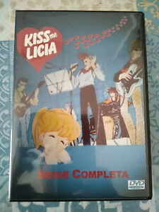 """DVD SET-BOX SERIE TV ANIME """"KISS ME LICIA"""" 42 EPISODI IN ITALIANO 1983 4 DVD"""