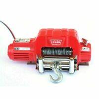 Metal Electric Winch + Controller for 1/10 RC Crawler TRX-4 TRX4 D90 SCX10 Truck