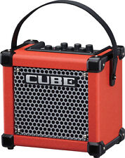 Roland Micro Cube GX Red 3W 1 x 5 Battery Powered Guitar Amplifier Speaker