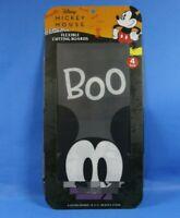"DISNEY Mickey Mouse Flexible Cutting Board 4 Pack Halloween Dracula Theme  8X11"""