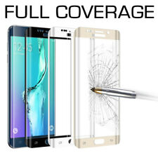 FULL COVERAGE Tempered Glass Screen Protector for Samsung Galaxy S7 S8 S9 Plus