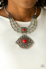 Santa Fe Solstice Red Necklace By: Paparazzi