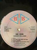 Ginger Williams – Cool Loving - Vinyl LP 1981