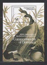 DOMINICA 1986, AUDUBON BIRDS, Scott 969 MNH