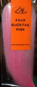 Fly Tying Deer Creek Faux Bucktail New Colours G12