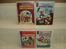 Best of Donald Duck and Uncle Scrooge SET Nice! Barks 4 Gold Key Comics (s 8910)