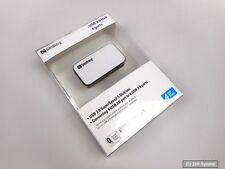 SANDBERG USB 3.0 Hub 4x Ports Hub SuperSpeed, 133-72, Windows Vista, XP, 7,8,10