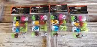 Crappie Tube Kit Jig heads & Tubes  Ready 2 Fish 31 piece - Lot of 4