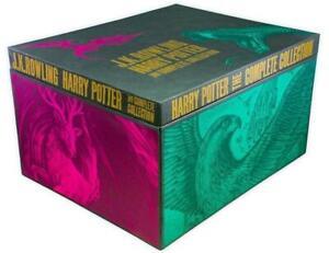 J K Rowling Harry Potter The Complete Collection 7 Hardback Box Set Books Box Se