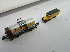 Z-MARKLIN MUSEUM 1997 CARRO ARMATO auto con brakemans Cabina & Die Cast Camion delle consegne