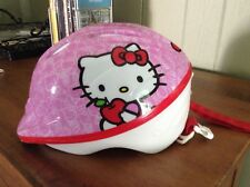 HELLO KITTY Youth Girls Pink Bike Helmet 7' long 6 1/2' wide