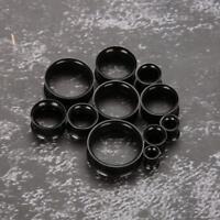 Ear Gauge Stainless Steel Flesh Tunnel Plug Expander Stretcher Earring(6mm-26mm)